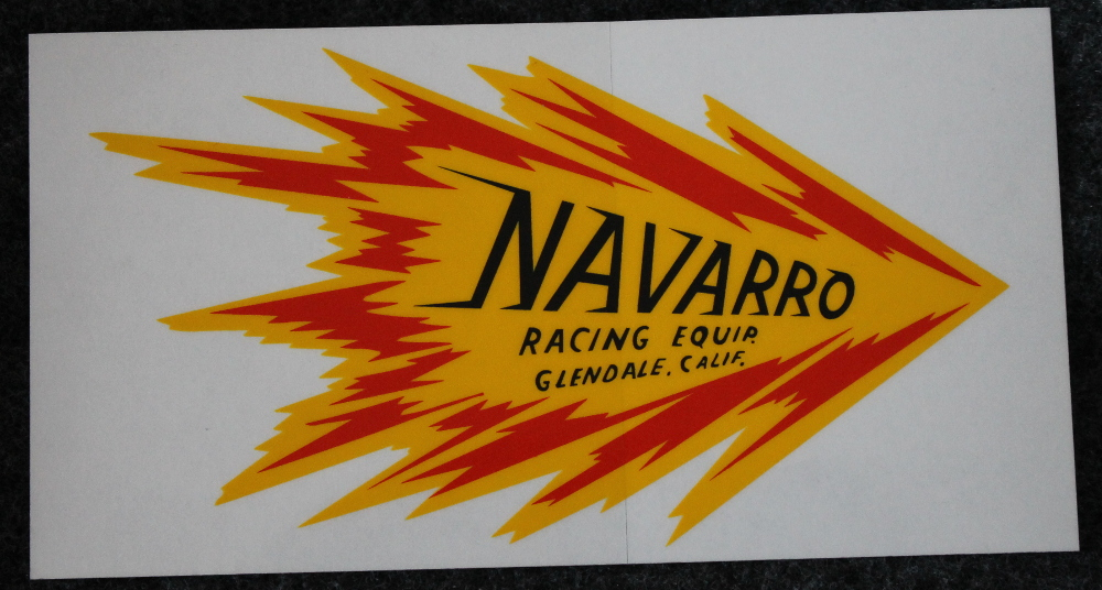 Navarro Racing Equipment Decal