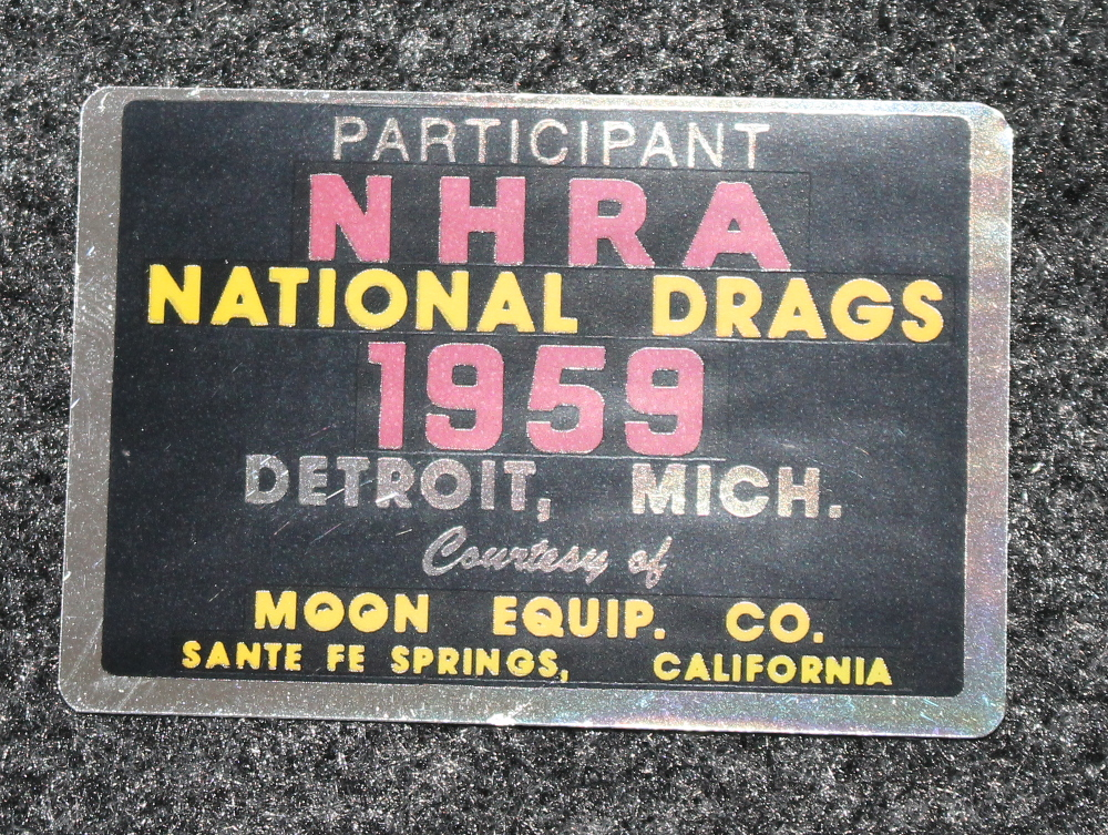 1959 NHRA Nationals Drag Decal