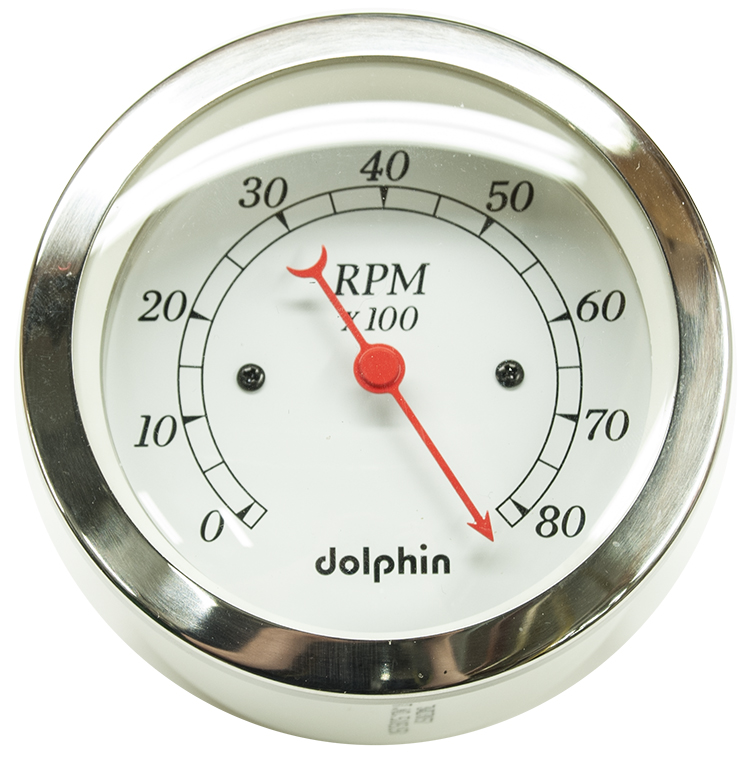 Dolphin Gauges   Hawk Hardware  Your Old School Speed Shop