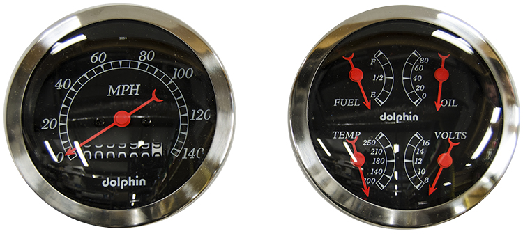 ezw338qb dolphin gauges hawk hardware, your old school speed shop dolphin wiring harness at gsmportal.co