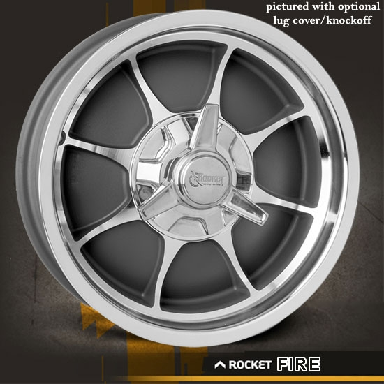 Rocket Fire Gray Wheel