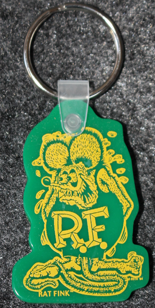 Green Ratfink Key Chain