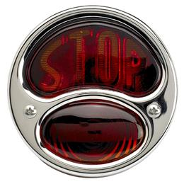 1928-31 Ford Model A Taillight Assemby with STOP Lens