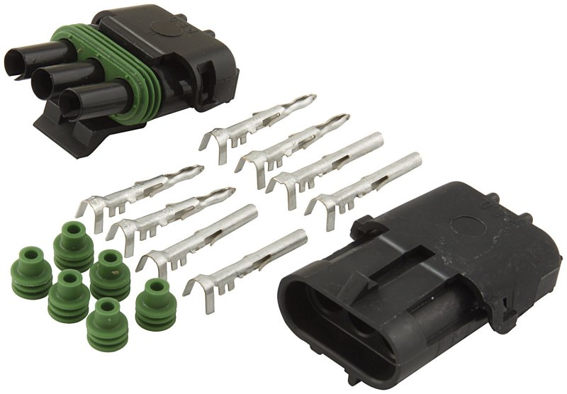 3 wire Weatherpack Connector Kit