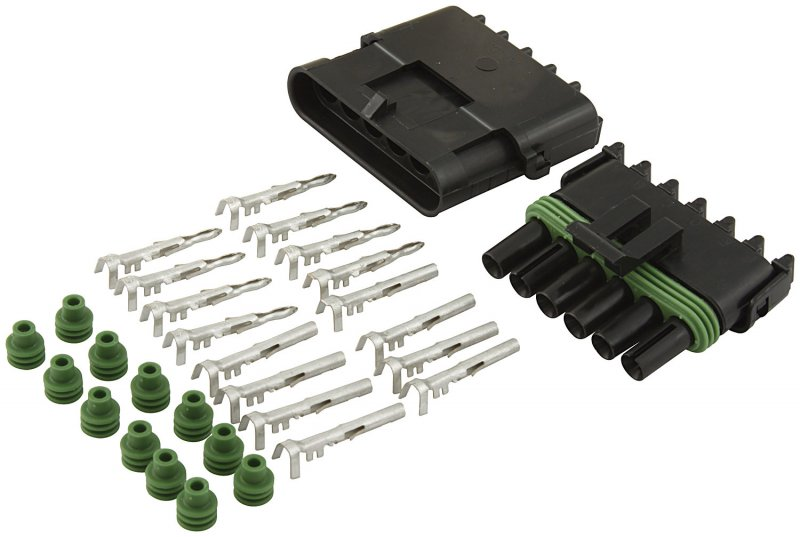 6 wire Weatherpack Connector Kit