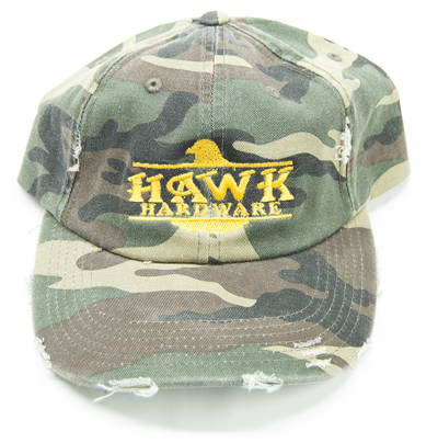 Hawk Hardware Camo Hat