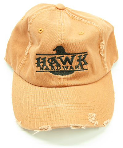 Hawk Hardware Orange Hat