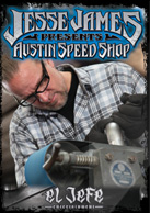 Jesse James Presents Austin Speed Shop DVD video