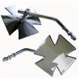 Iron Cross Motorcycle Mirror