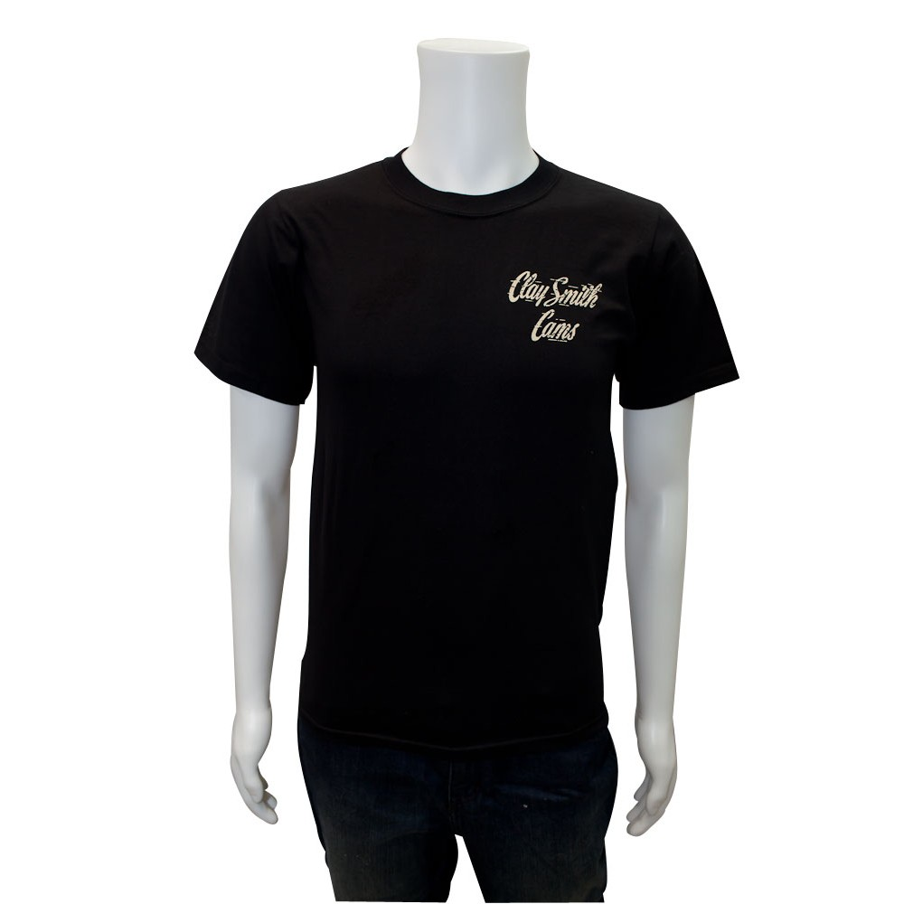 Mr Horsepower Roadster T Shirt Black