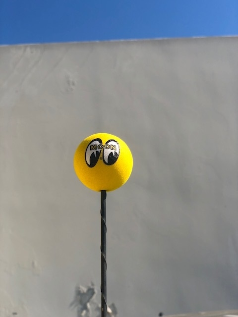 Yellow Moon Antenna Ball