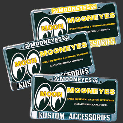 Mooneyes Custom License Frames