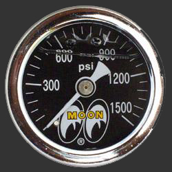 Moon Direct Mount Pressure Gauge 0 to 1500psi