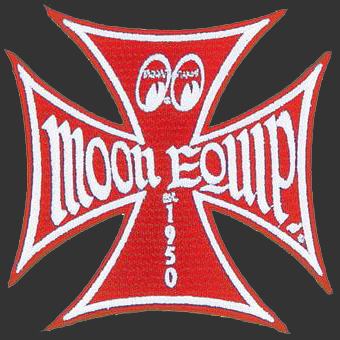 Red Moon Equip Iron Cross Patch