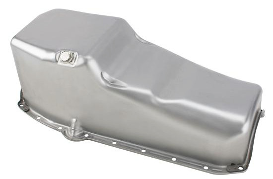 Unplated 1986 up Chevy Small Block Oil Pan