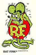 Rat Fink Original Sticker