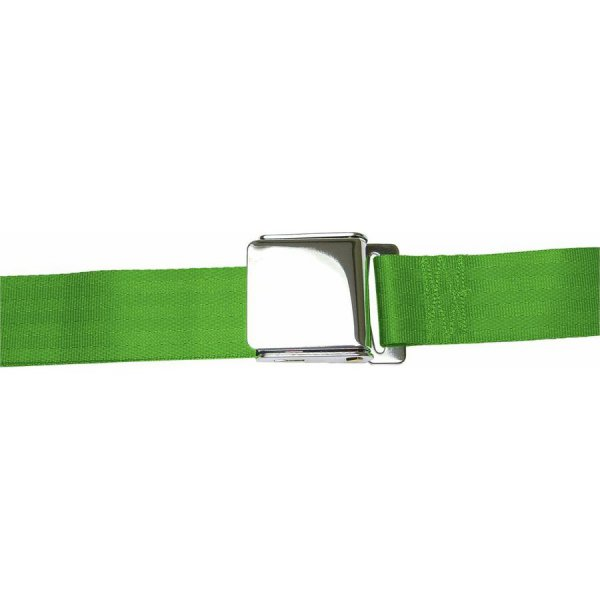 Green Seatbelt Airplane Buckle