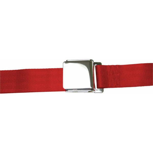 Red Lift Latch Seatbelt