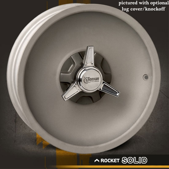 Rocket Solid As Cast Wheel