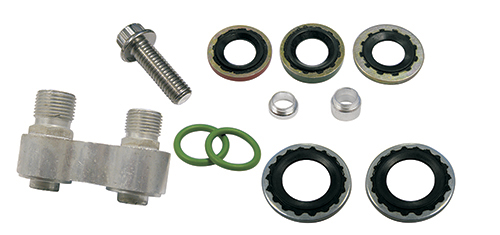 GM Pancake Style Compressor Hose Adapter
