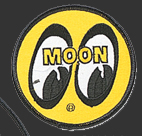 Yellow Moon Patch Round
