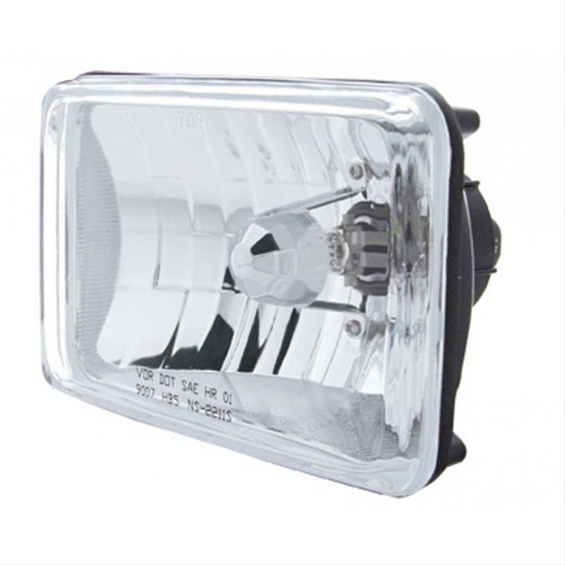 Small Rectangle Headlight with Hi Beam only 6in X 4in