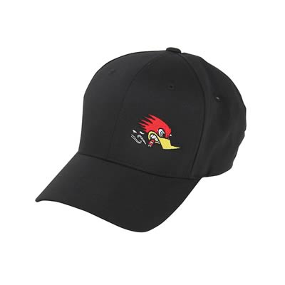 Mr Horsepower Side Logo Hat Black Fitted