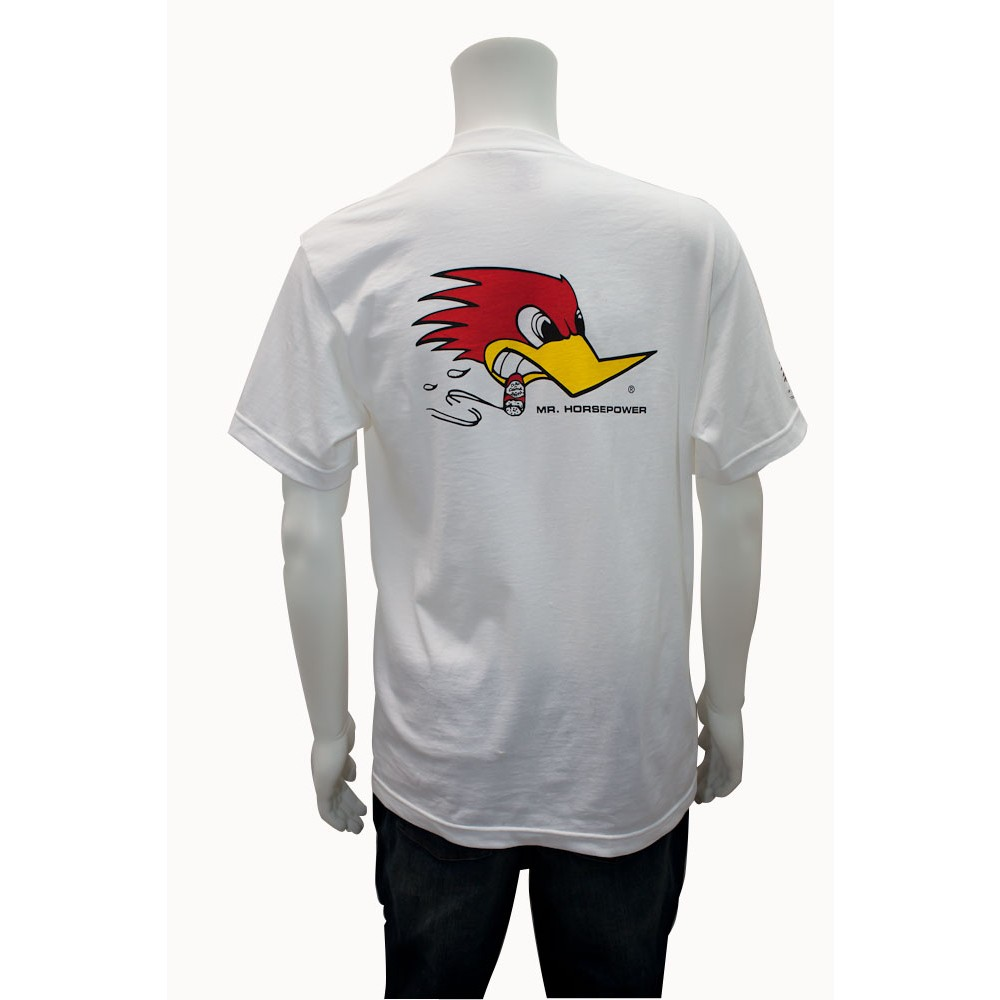 Mr Horsepower White T Shirt