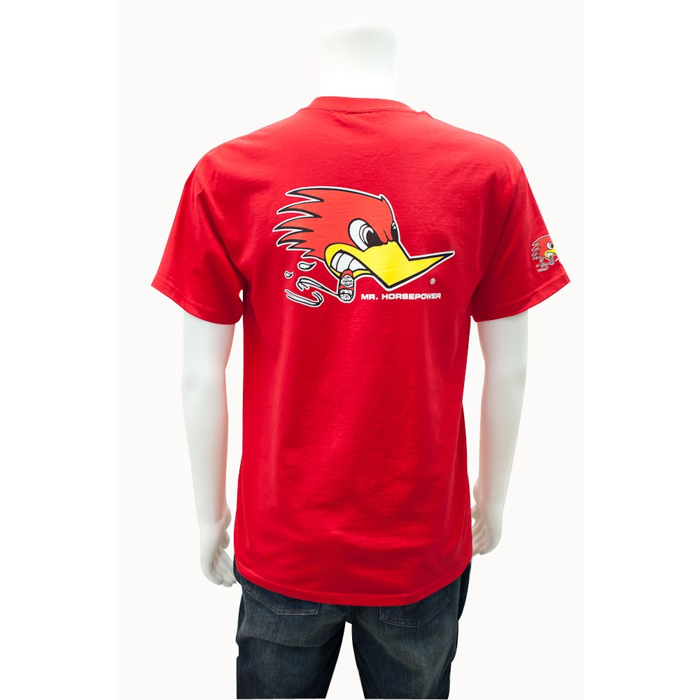 Mr Horsepower Red T Shirt