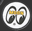 White Moon Patch Round